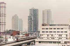 Bangkok in de ochtend Stock Afbeelding