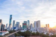 Bangkok in de ochtend Royalty-vrije Stock Foto