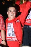 BANGKOK - DEC 10: Red Shirts Protest Demonstration - Thailand Royalty Free Stock Photography