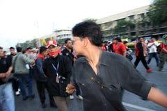 BANGKOK - DEC 10: Red Shirts Protest Demonstration - Thailand Stock Images