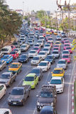 BANGKOK - DEC 23: Daily traffic jam in the afternoon on dec 23, Stock Image
