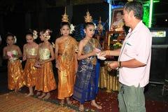 BANGKOK - DEC 5: King's Birthday Celebration - Thailand 2010 Stock Photography