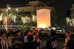 BANGKOK - DEC 5: King's Birthday Celebration - Thailand 2010 Stock Photos