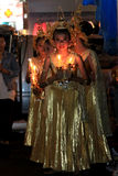 BANGKOK - DEC 5: King's Birthday Celebration - Thailand 2010 Royalty Free Stock Photo