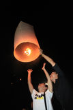 BANGKOK - DEC 5: King's Birthday Celebration - Thailand 2010 Stock Photo