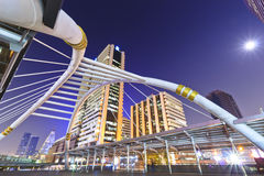 Sathorn bridge Stock Image