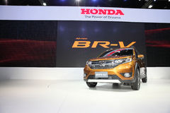 BANGKOK - December 1: Honda BR-V car on display at The Motor Exp Royalty Free Stock Images