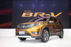 BANGKOK - December 1: Honda BR-V car on display at The Motor Exp Stock Photography