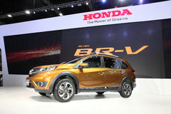 BANGKOK - December 1: Honda BR-V car on display at The Motor Exp Royalty Free Stock Photos