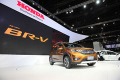 BANGKOK - December 1: Honda BR-V car on display at The Motor Exp Stock Image