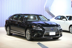 BANGKOK - December 11: Lexus Ls 600h car on display at The Motor Royalty Free Stock Image