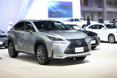 BANGKOK - December 11: Lexus NX 300h car on display at The Motor Royalty Free Stock Photo