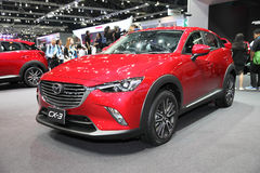 BANGKOK - December 1: Mazda CX-3 car on display at The Motor Exp Royalty Free Stock Photography