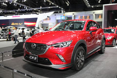 BANGKOK - December 1: Mazda CX-3 car on display at The Motor Exp Stock Photography