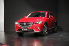 BANGKOK - December 1: Mazda CX-3 car on display at The Motor Exp Stock Image