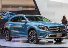 BANGKOK - DECEMBER 1: Mercedes-Benz GLA 200 car on display at Th Royalty Free Stock Image