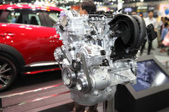 BANGKOK - December 11: Model engine on display at The Motor Expo Stock Photography