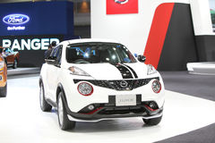 BANGKOK - December 1:Nissan Juke car on display at The Motor Exp Stock Photography