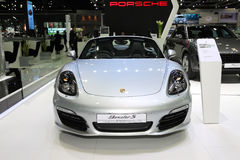 BANGKOK - December 1: Porsche Boxster S car on display at The Mo Stock Images