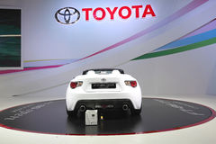 BANGKOK - December 11: Toyota FT-86 open concept car on display Stock Photography