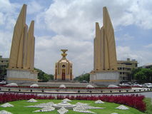 Bangkok democracy monument Royalty Free Stock Photo