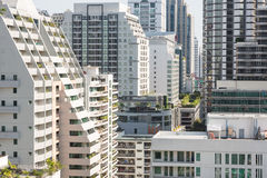Bangkok density Royalty Free Stock Image