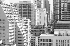 Bangkok density Royalty Free Stock Images