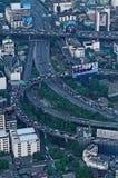 Bangkok an der Hauptverkehrszeit Stockbilder