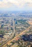 Bangkok dessus en haut Images stock