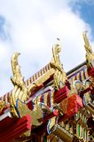 Bangkok Details in the Grand Palace. Architectural details in a Bangkok temple in the grand palace Stock Photography