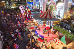 BANGKOK am 31. Dezember: Weihnachts- und guten Rutsch ins Neue Jahr-Festival Lizenzfreie Stockfotos