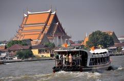 bangkok łódkowata chao promu praya rzeka Thailand Fotografia Royalty Free