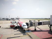 Bangkok Don Mueang Airport, Tailandia, immagine stock libera da diritti
