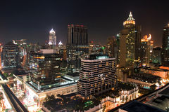 Bangkok downtown Royalty Free Stock Photo
