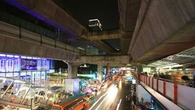 Bangkok downtown busy traffic Stock Image
