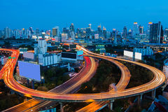 Bangkok Downtown City Skyline Royalty Free Stock Photos