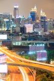 Bangkok downtown Highway Stock Images