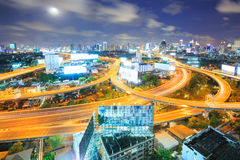 Bangkok Downtown Highway Stock Photo