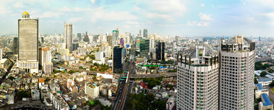 Bangkok downtown Stock Photo