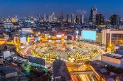 Bangkok downtown skylines Stock Photography