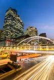 Bangkok downtown skylines Stock Image