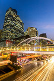 Bangkok downtown skylines Royalty Free Stock Photo