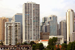 Bangkok du centre Photographie stock libre de droits