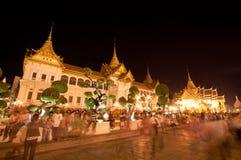 Bangkok el 5 de diciembre: El palacio magnífico Fotos de archivo
