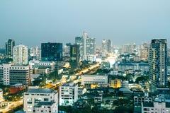 Bangkok en el amanecer Fotos de archivo