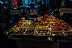 Bangkok en la noche, 2013 Imagen de archivo