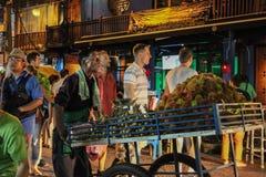 Bangkok en la noche, 2013 Foto de archivo libre de regalías