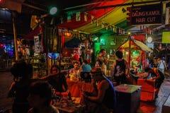 Bangkok en la noche, 2013 Foto de archivo