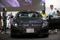 BANGKOK - 1ER DÉCEMBRE : Frein de tir de CDI de Mercedes-Benz CLS 250 c Photo libre de droits