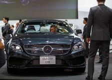 BANGKOK - 1ER DÉCEMBRE : Frein de tir de CDI de Mercedes-Benz CLS 250 c Images libres de droits